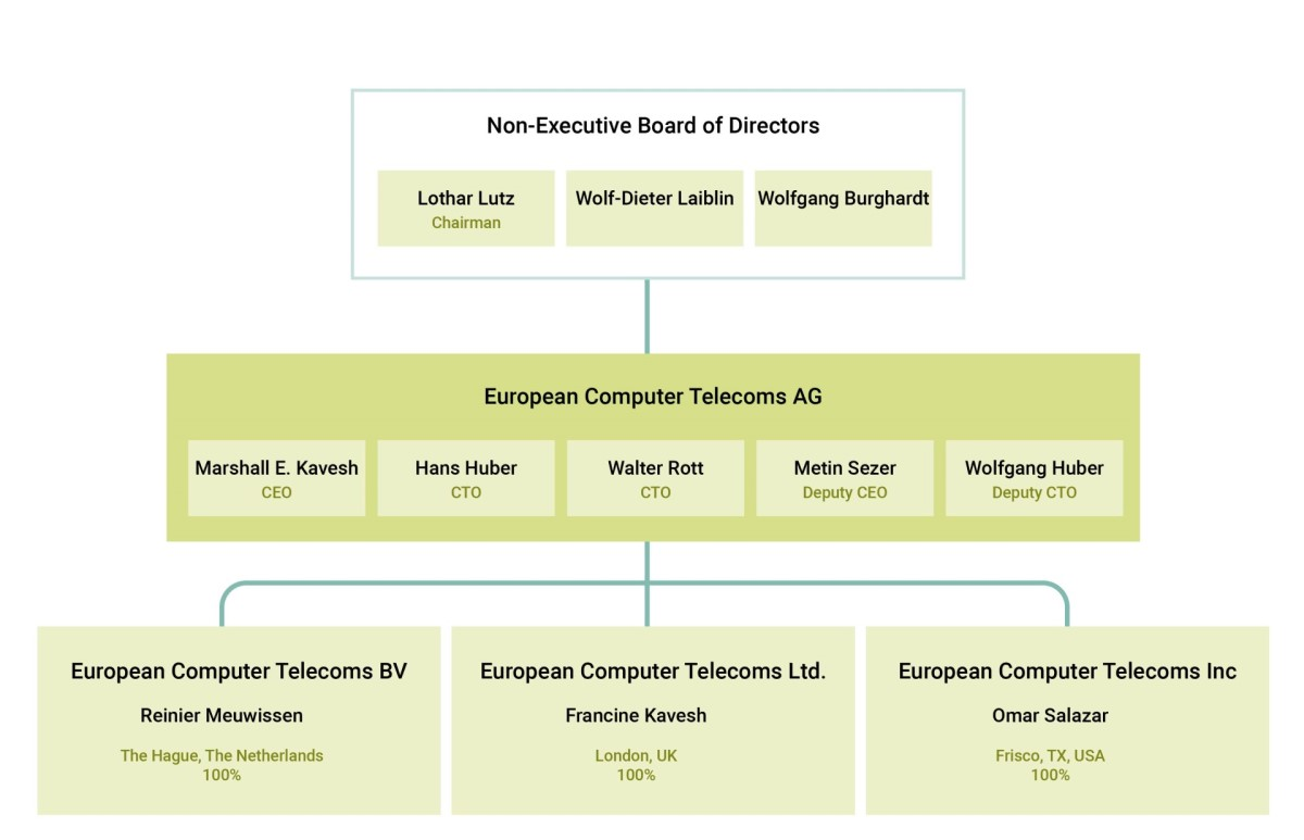 ect executive level diagram