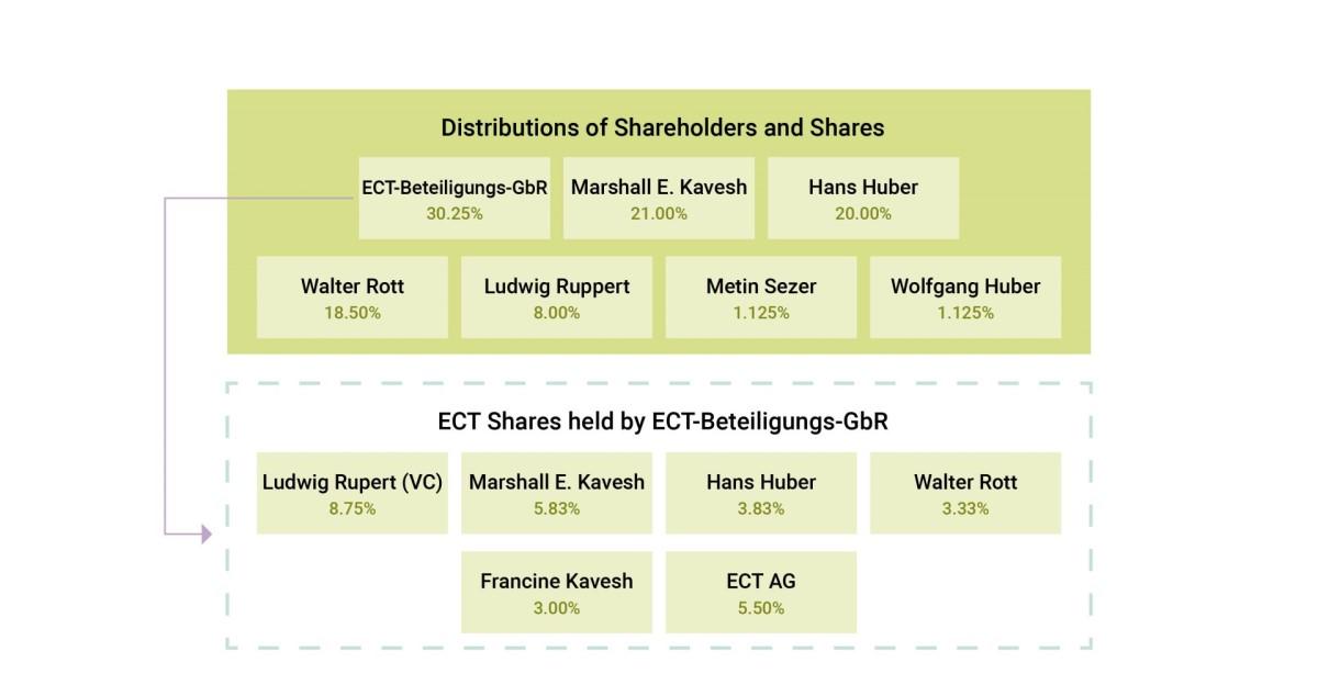ect shareholder level diagram