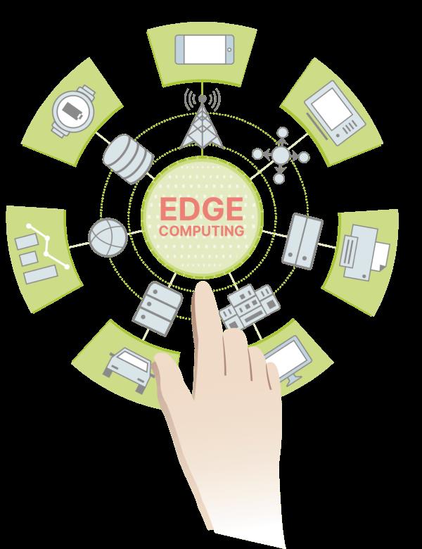edge computing illustration